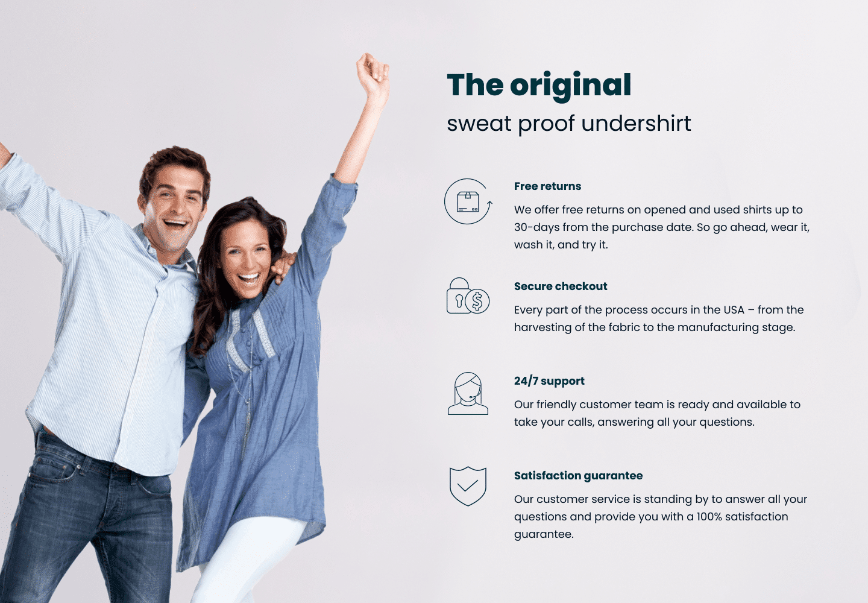 The Original Sweatproof undershirt