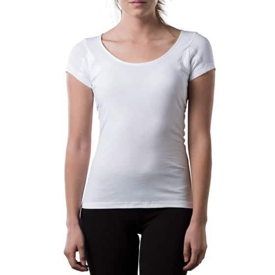 The TopDry Women's sweat proof undershirt - Scoop Neck